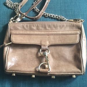 Rebecca Minkoff Bags - Rebecca Minkoff distressed leather crossbody purse